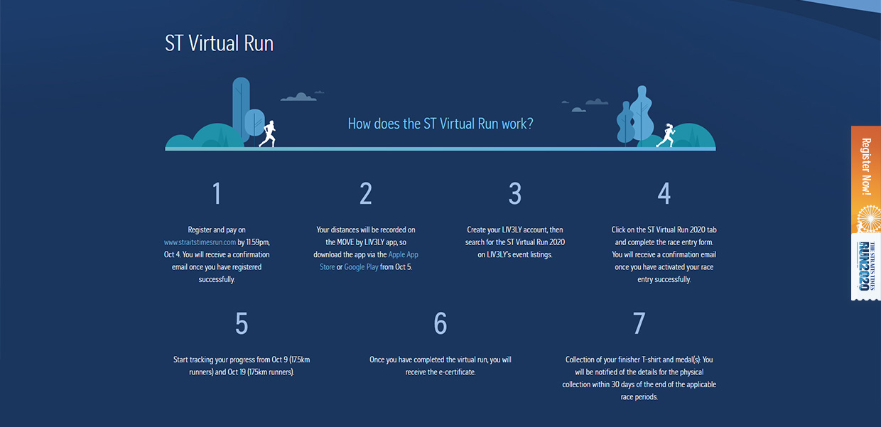 Straits Times Virtual Run 2020